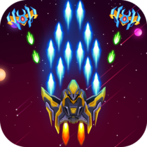 Air Galaxy Striker X – Arcade Sky Force Battle 2.4 APK Mod for android Download android app