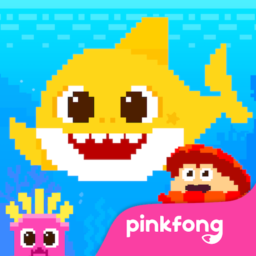 Baby Shark 8BIT Finding Friends 2.5 APK Mod for android Download android app