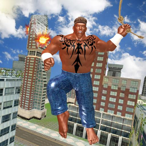 Black Monster Hero Crime City Battle 1.8 APK Mod for android Download android app