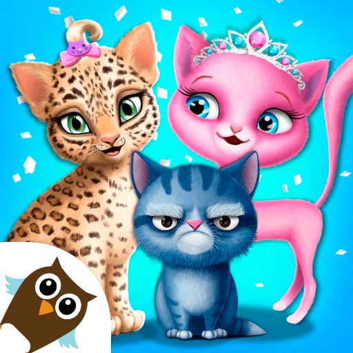 Cat Hair Salon Birthday Party – Virtual Kitty Care 8.0.80006 APK Mod for android Download android app
