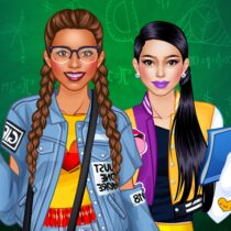 College Student Girl Dress Up 1.0.6 APK Mod for android Download android app