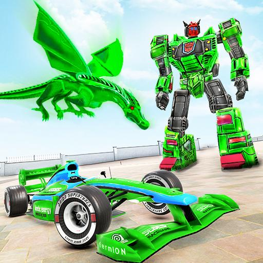 Dragon Robot Car Game Robot transforming games 1.2.4 APK Mod for android Download android app