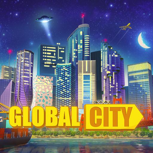 Global City Build your own world. Building Game 0.1.4494 APK PROCrack for android Download android app