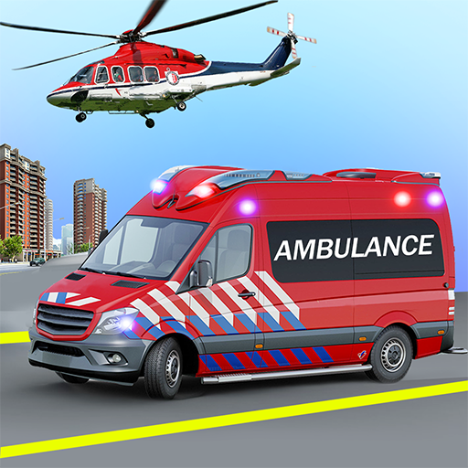 Heli Ambulance Simulator 2020 3D Flying car games 1.14 APK PROCrack for android Download android app