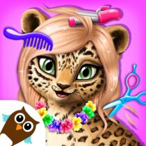 Jungle Animal Hair Salon – Styling Game for Kids 4.0.10018 APK Mod for android Download android app