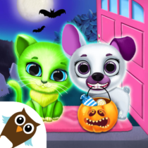 Kiki Fifi Halloween Salon – Scary Pet Makeover 5.0.11508 APK Mod for android Download android app