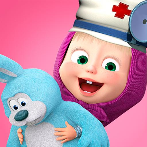 Masha and the Bear Toy doctor 1.2.3 APK Mod for android Download android app