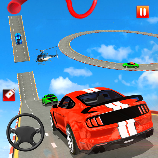Mega Ramp Car Racing Stunts 3d Stunt Driving Games 1.2 APK Mod for android Download android app