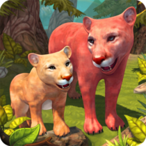 Mountain Lion Family Sim Animal Simulator 1.8 APK Mod for android Download android app