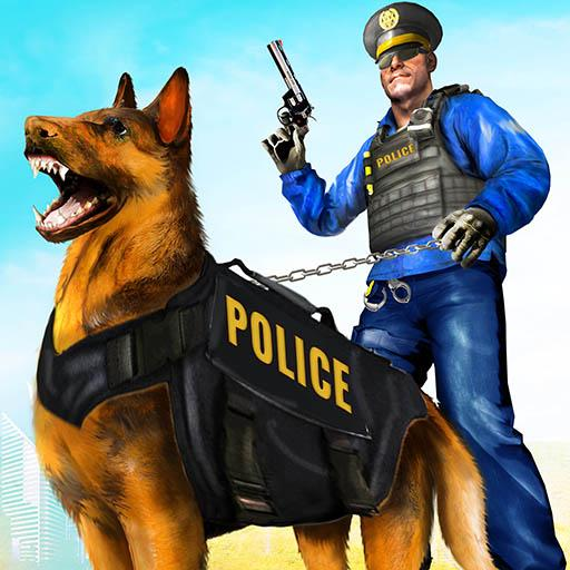 Police Dog Airport Crime Chase Dog Games 2.9 APK Mod for android Download android app