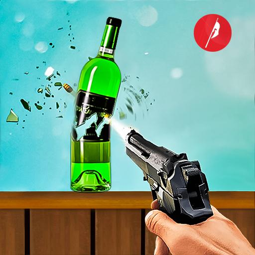 Real Bottle Shooting Free Games 3D Shooting Games 3.2 APK Mod for android Download android app