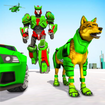 Wolf Robot Transforming Games Robot Car Games 1.0.23 APK Mod for android Download android app
